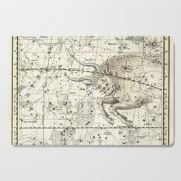Taurus Zodiac, Celestial Atlas Plate 14, Alexander Jamieson Cutting Board