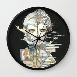 Kristin Child 1 Wall Clock
