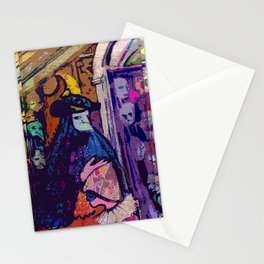 Venetian Strangers Stationery Cards