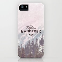 The Hopeless Wanderer iPhone Case