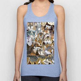 Wolves o´clock (Time to Wolf) Unisex Tank Top
