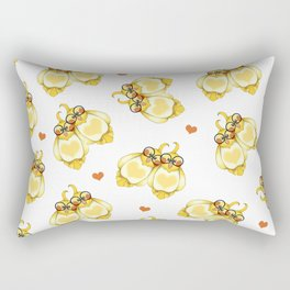 Love Birbs Rectangular Pillow
