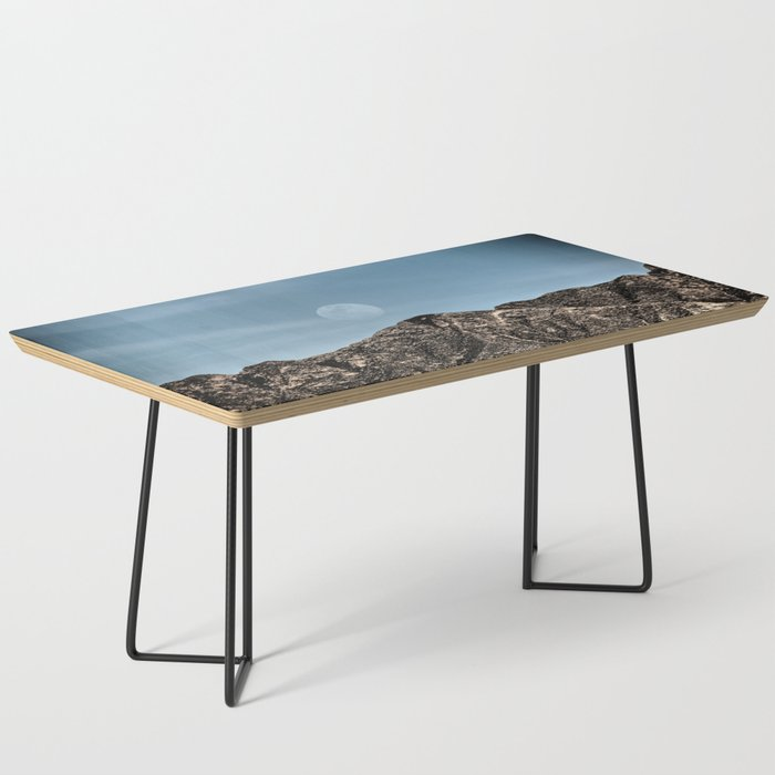 Moon over the Franklin Mountains Coffee Table