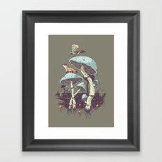 Elven Ranger Framed Art Print