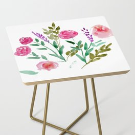 Country Bouquet Side Table