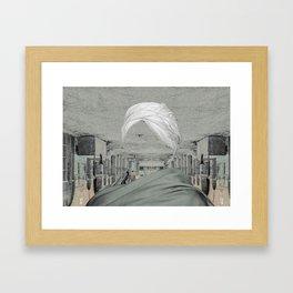 berber Framed Art Print