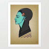 elf Art Prints featuring Elf by Apsilap