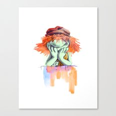 Don't be a party Boober Canvas Print