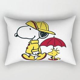 peanuts snoopy Rectangular Pillow
