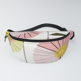Abstract Summer Flowers Fanny Pack
