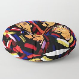 FAB FOUR Floor Pillow
