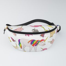 Party Like A Unicorn Fanny Pack