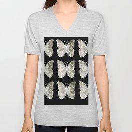 High Tech Butterflies 3 Unisex V-Neck