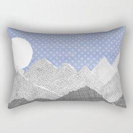 Paper Sky Rectangular Pillow