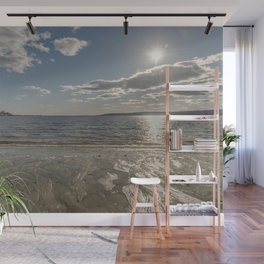 Cold Beach Day Wall Mural