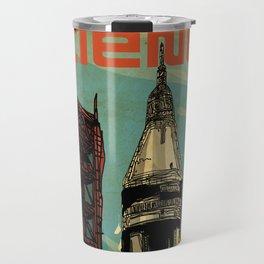 Apollo 11 NASA rocket 50th anniversary Travel Mug