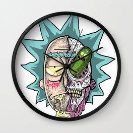 Rick Pickle Wall Clock