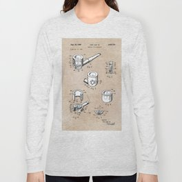 patent art Yow-Jiun Hu Smoking pipe apparatus 1968 Long Sleeve T-shirt