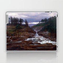 Johan Christian Dahl The Lower Falls of Labrofoss Laptop & iPad Skin