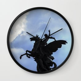 Pegaso A.Q. Wall Clock