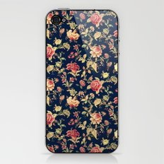 Shabby Floral Print iPhone & iPod Skin