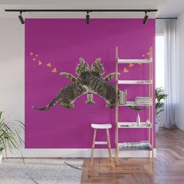 Butterfly Cat Wall Mural