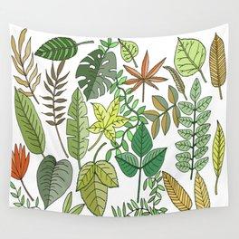 Leaf seasons Wall Tapestry