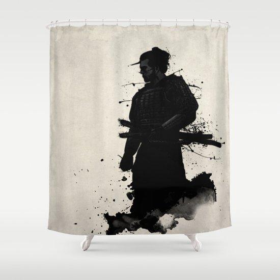 Samurai Shower Curtain