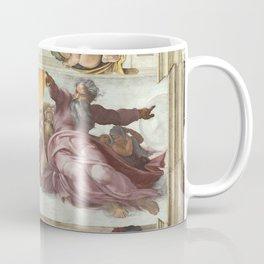 "Michelangelo ""Creation of the Sun, Moon, and Plants"" Coffee Mug"