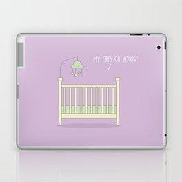 My Crib or Yours? #kawaii #crib Laptop & iPad Skin