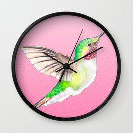 Hummer Pink Wall Clock