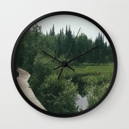 hikes Wall Clock
