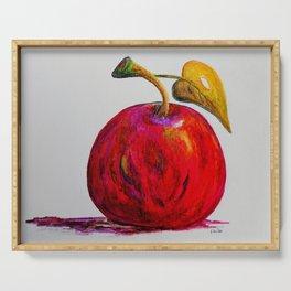 Kaleidoscope Apple or APPLE FOR THE TEACHER Serving Tray