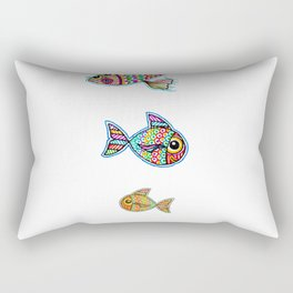 The Swimming Ones Rectangular Pillow