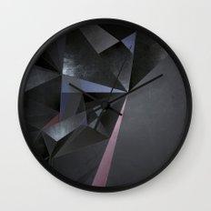 Coal Wall Clock
