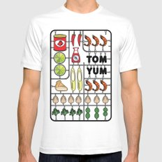 Tom Yum Assembly Kit Mens Fitted Tee White MEDIUM