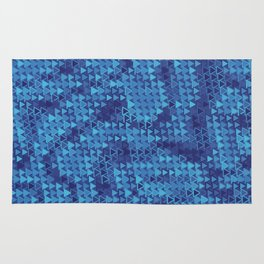 Nobody Leaves This Place Without Seeing the Blues Rug