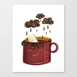 Chocolate rain Canvas Print