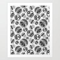 sugar skulls Art Prints featuring SUGAR SKULLS by Kiley Victoria