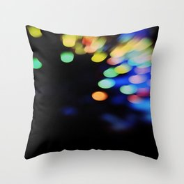 Party lights #5 Throw Pillow