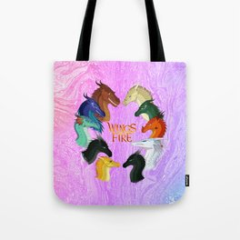 Wings Of Fire Tote Bag
