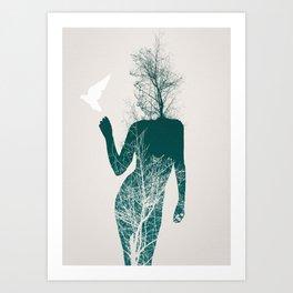 Bliss of Solitude Art Print