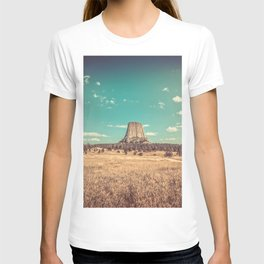 Devil's Tower National Monument Wyoming T-shirt
