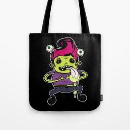 Happy With Pink Elvis Tote Bag