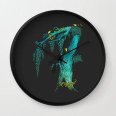 Tree Birds Wall Clock