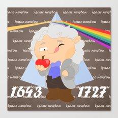 Isaac Newton Canvas Print