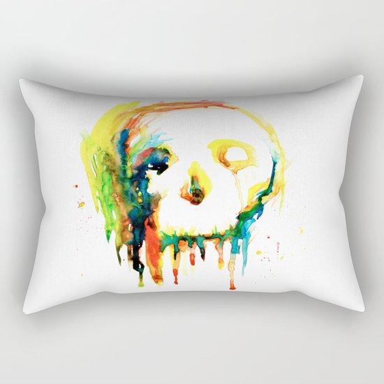 Happy/Grim Rectangular Pillow