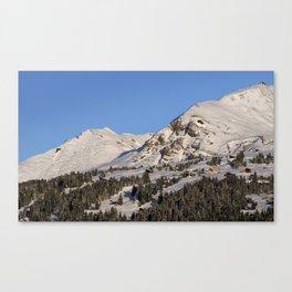 Schanfigg GR Langweis 4 Canvas Print