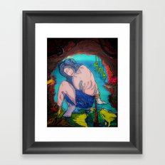 Bound & Cavernous Framed Art Print