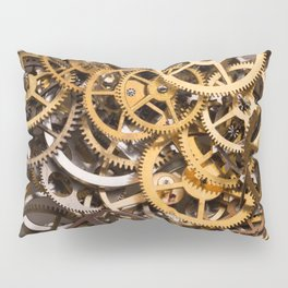 Cogwheels background Pillow Sham